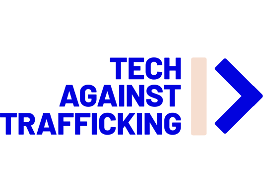 Tech Against Trafficking logo on a white background.