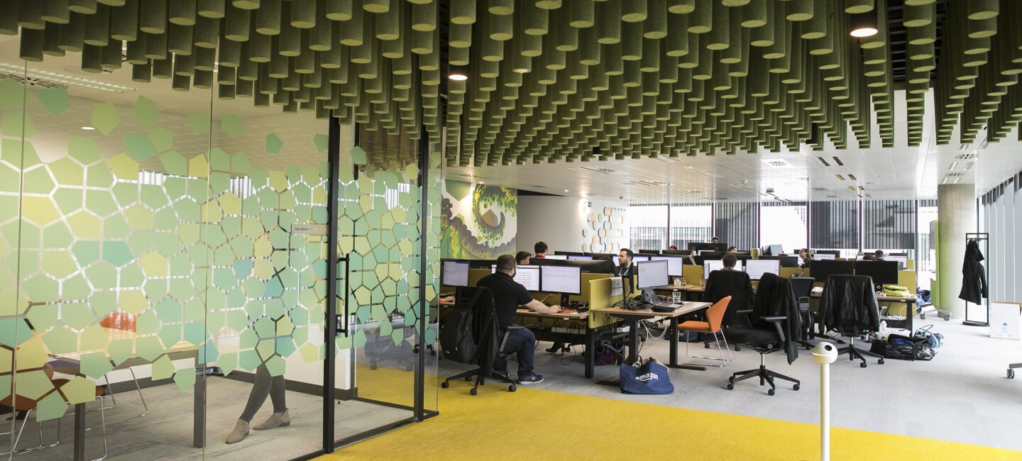 Amazon office interior in Barcelona