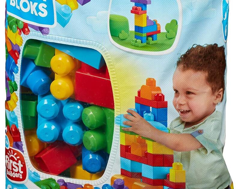 Abbildung des Mega Bloks Bausteinebeutel, erhältlich auf Amazon.de.
