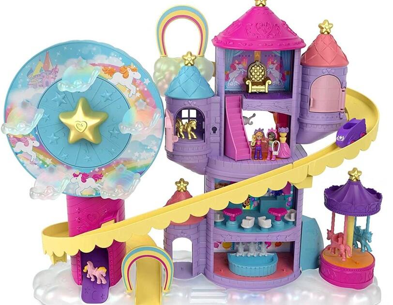 Polly Pocket Rainbow Funland Theme Park, Currently priced at ś44.99