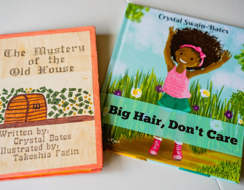 Crystal Swain-Bates, author of Big Hair, Don't Care and founder of Goldest Karat publishing