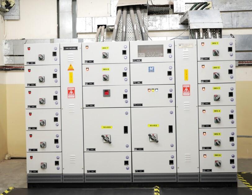Solar panel at FC