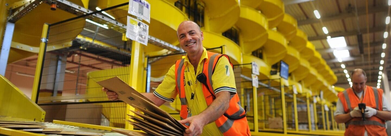 Investitionen in DE, lächelnder Mann