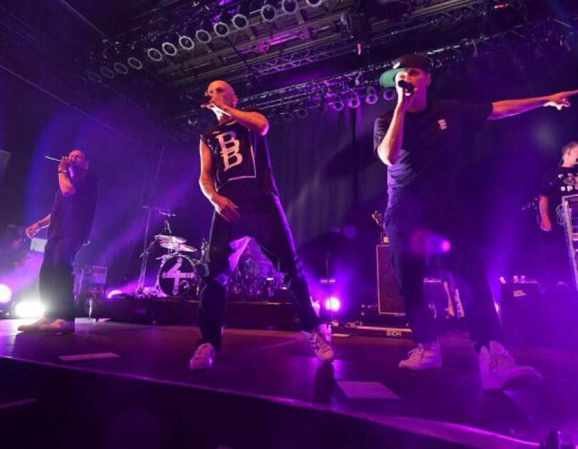 Die Fantastischen Vier auf der Bühne des Prime Day Konzerts 2019