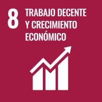 UNSDG 8 Trabajo decente y crecimiento económico