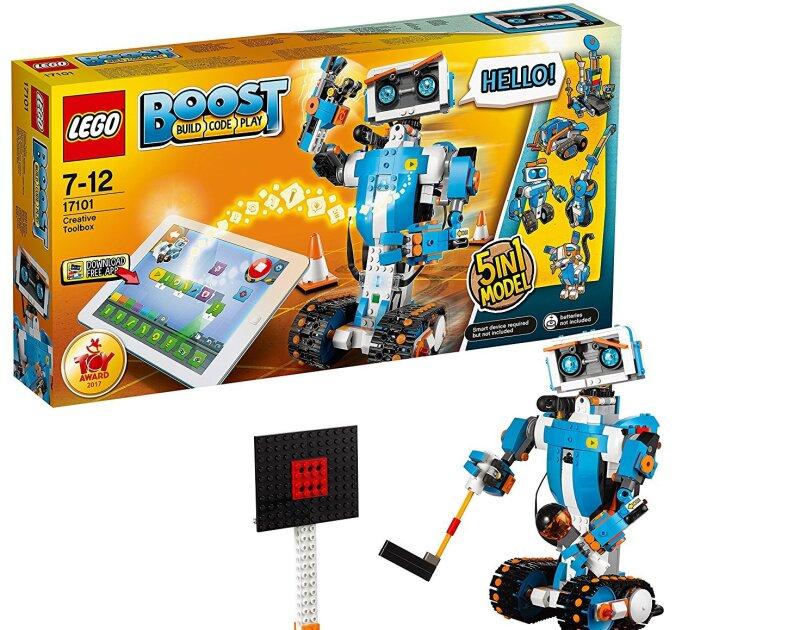 Abbildung des Lego Boost Roboticset, erhältlich auf Amazon.de.