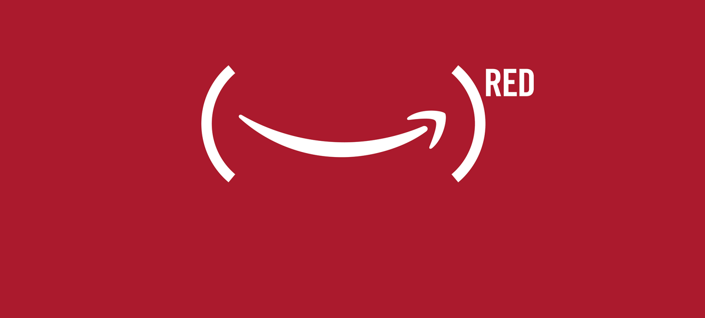 Amazon is going (RED)