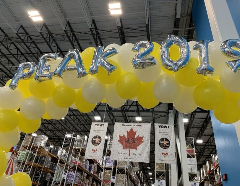 Amazon associates celebrate Peak