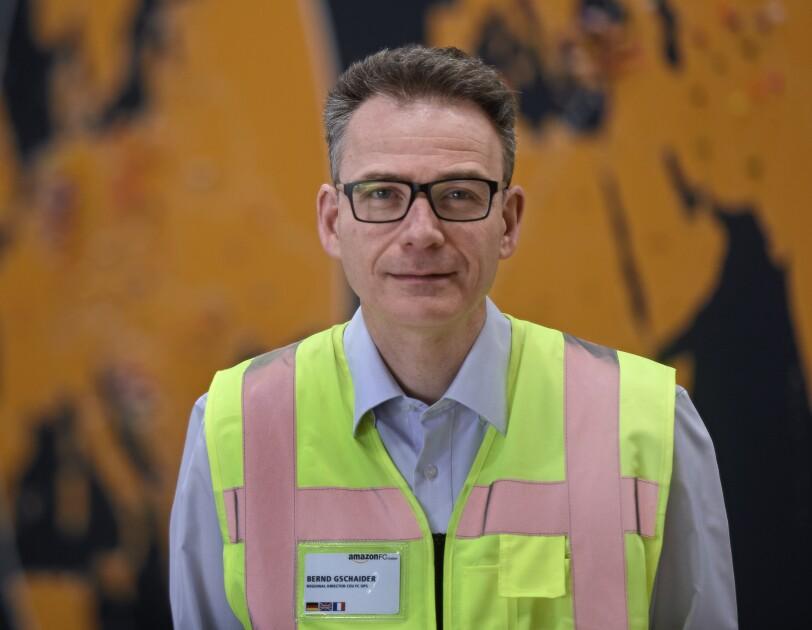 Bernd Gschaider Amazon Logistics Deutschland