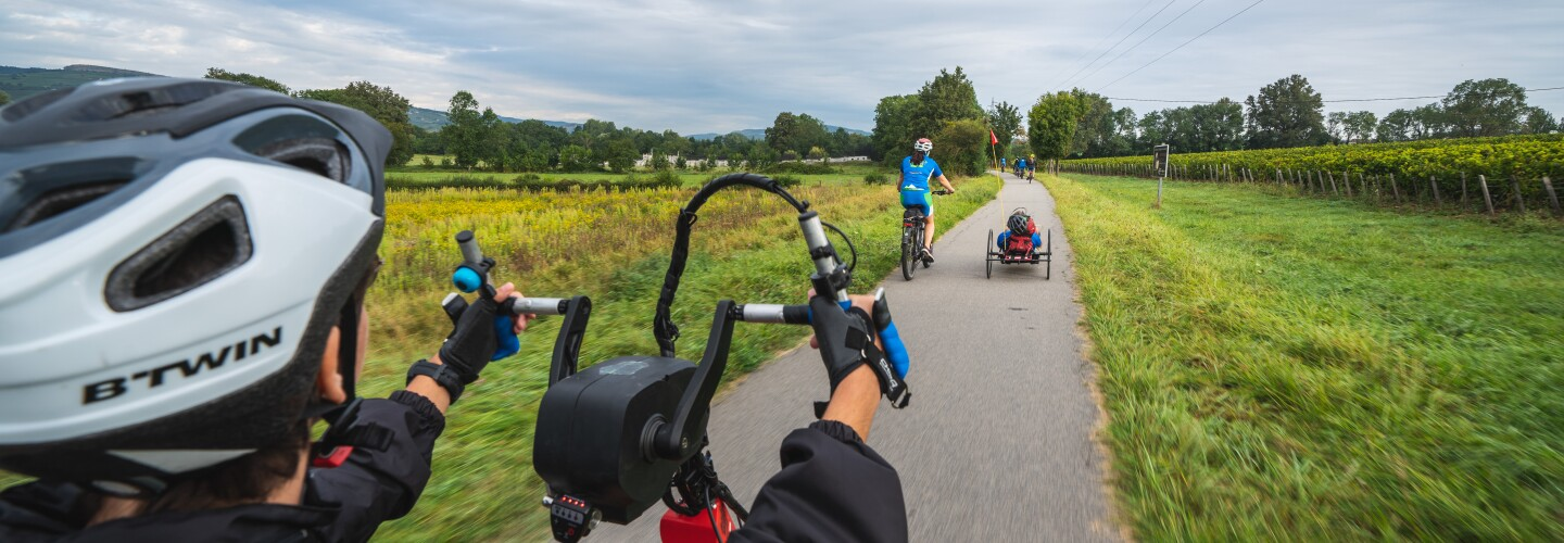 Photos from the Handi-Cyclo Bike Tour in France