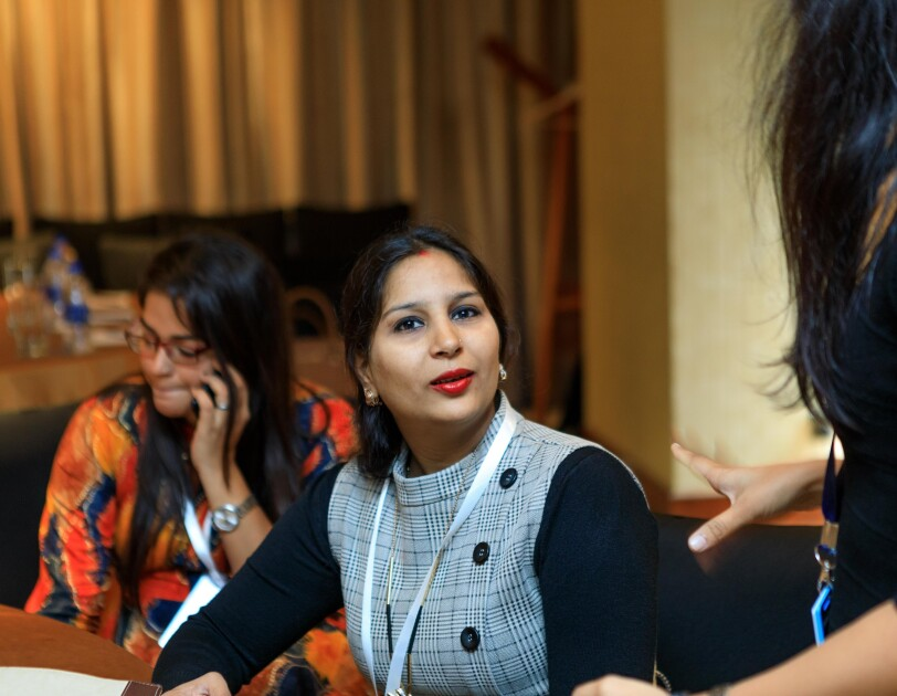 Entrepreneur Priya  of Super India Emporium