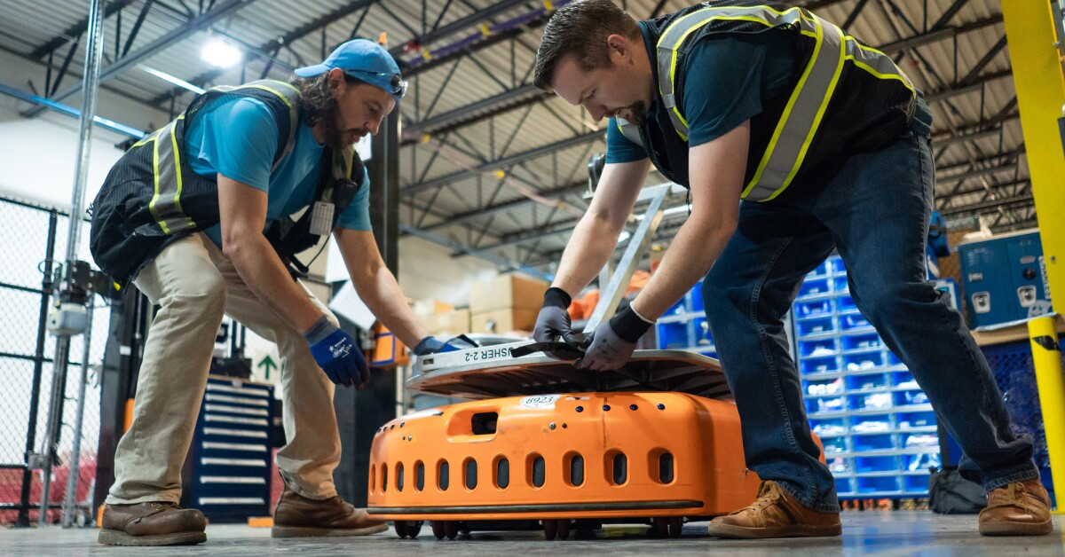 What robots do (and don't do) at Amazon fulfillment centers