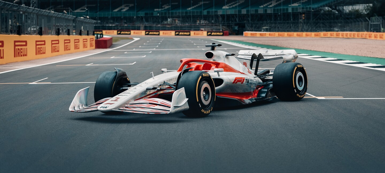 Formula 1® and AWS develop next-generation race car