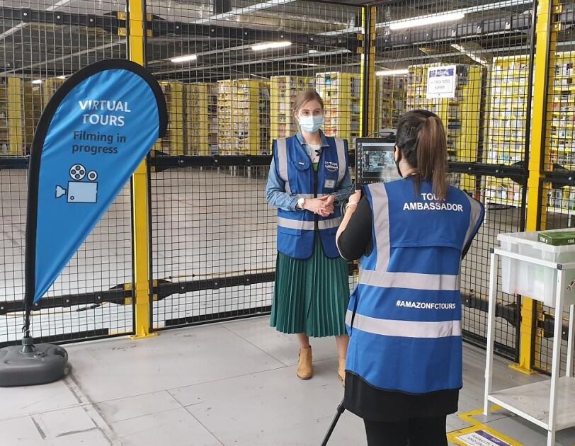 Wirtualne zwiedzanie centrów logistycznych