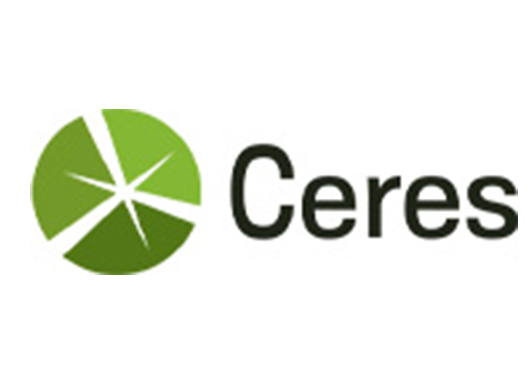Ceres logo on a white background.