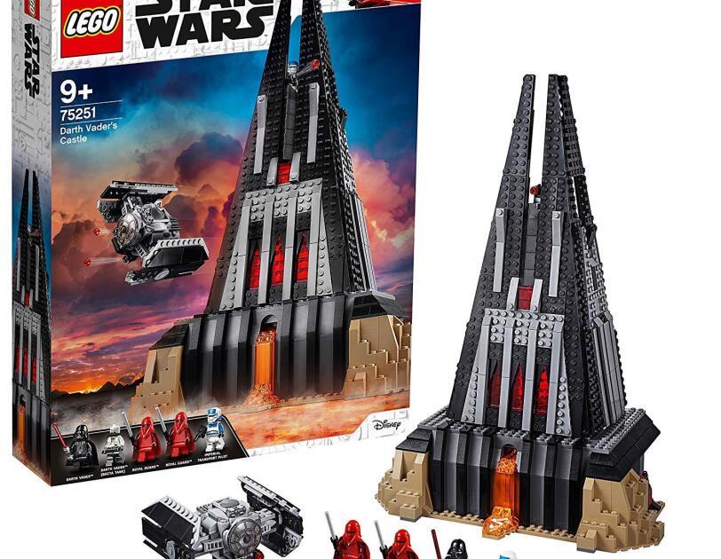 Abbildung der Star Wars Darth Vaders Festung von Lego, erhältlich bei Amazon.de.