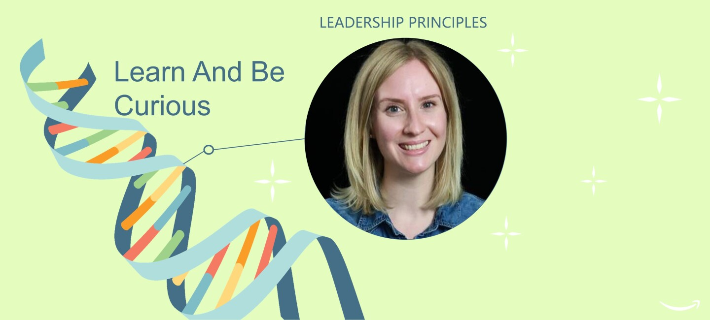 Leadership Principles Learn and be curious Anika Born
