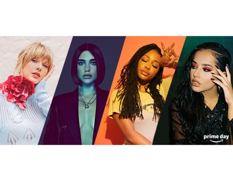 Prime Day Konzert in News York mit Taylor Swift, Dua Lipa, SZA und Becky G.