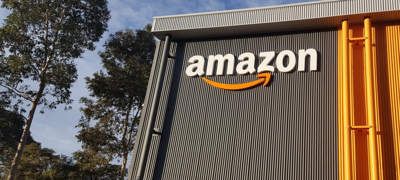 The Amazon fulfilment centre, or warehouse, in Sydney, Australia.