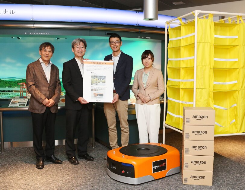 物流博物館でAmazon Roboticsの常設展示を開始