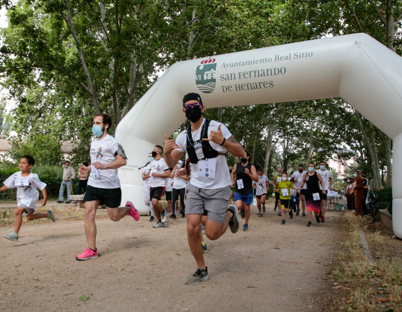 Amazon employees and celebrities across Europe run together to raise money for local charities