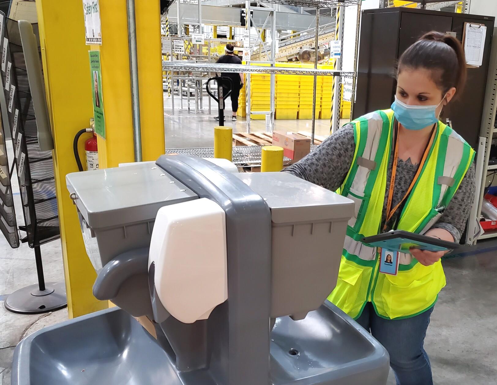 Amazon women workers