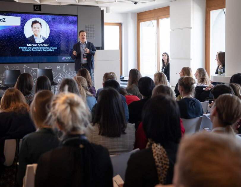Eindrücke vom Kick-off des Förderprogramms Unternehmerinnen der Zukunft 2019