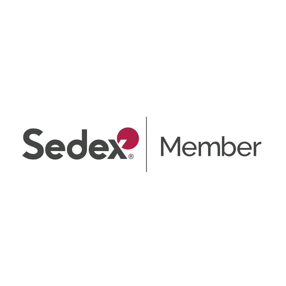 The Sedex: Member logo. Sedex is an Amazon Sustainability partner.