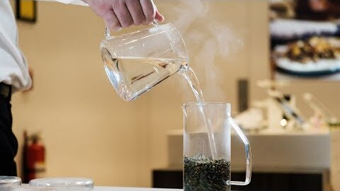 A tea maker adds warmth to the holidays