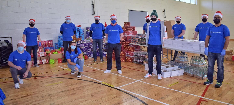 Volunteers for AWS InCommunities, Dublin Ireland