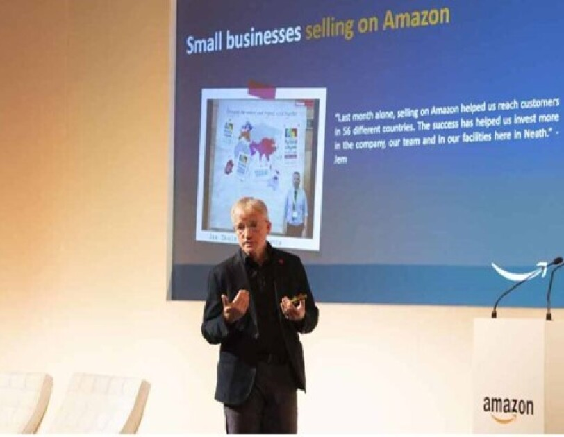 Doug Gurr, Country Manager, Amazon UK is speaking at Amazon Academy in Wales, Scotland.