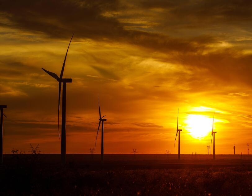 Windfarm in Texas