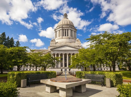 Washington's State Capitol in Olympia