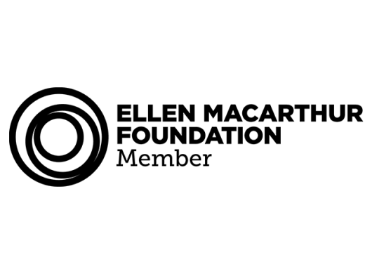 Ellen MacArthur Foundation Logo with concentric circles