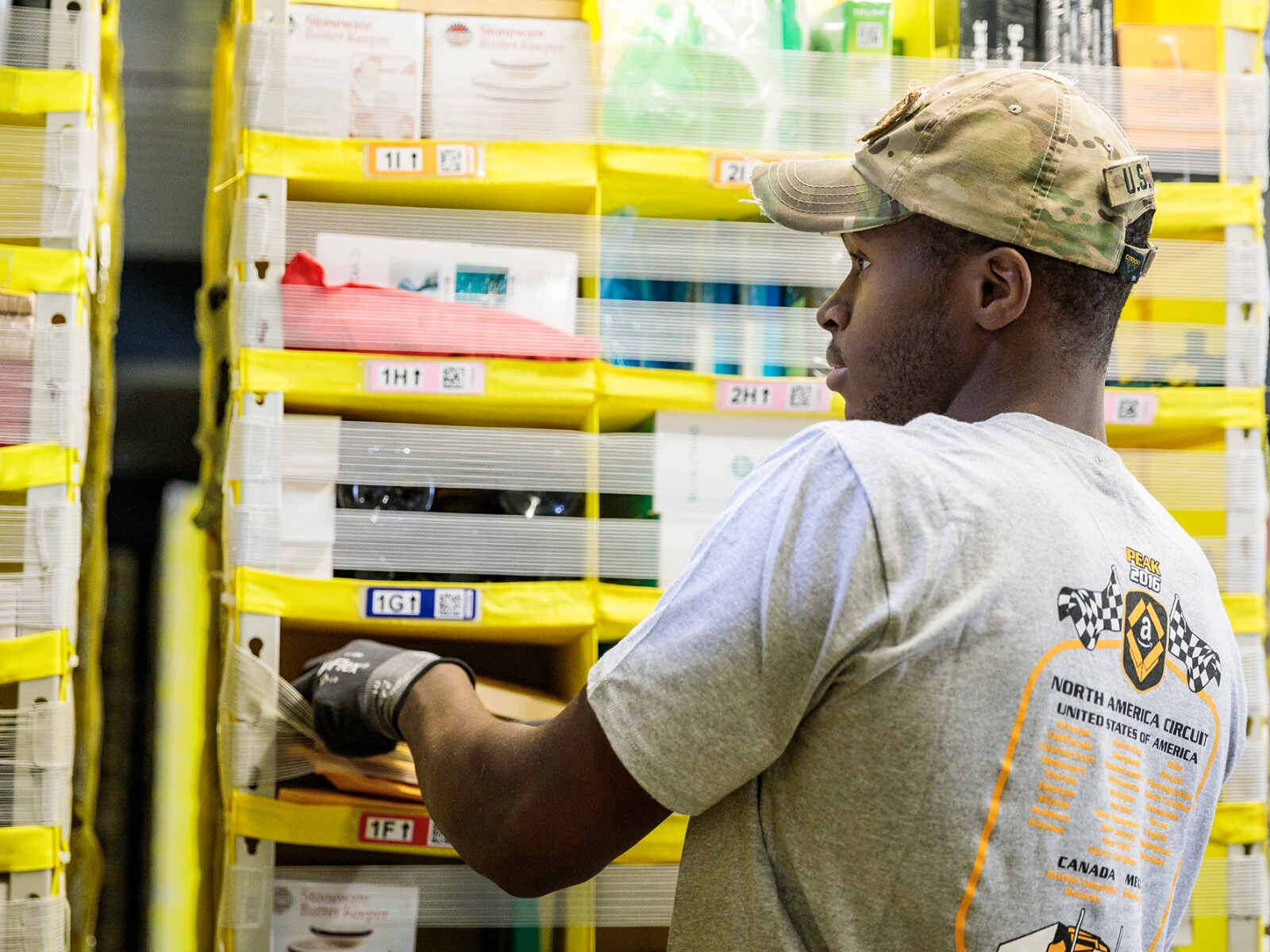 Inside Amazon's fulfillment centers
