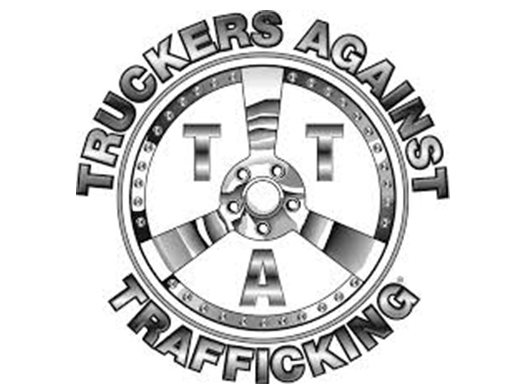 Truckers Against Trafficking logo on a white background.