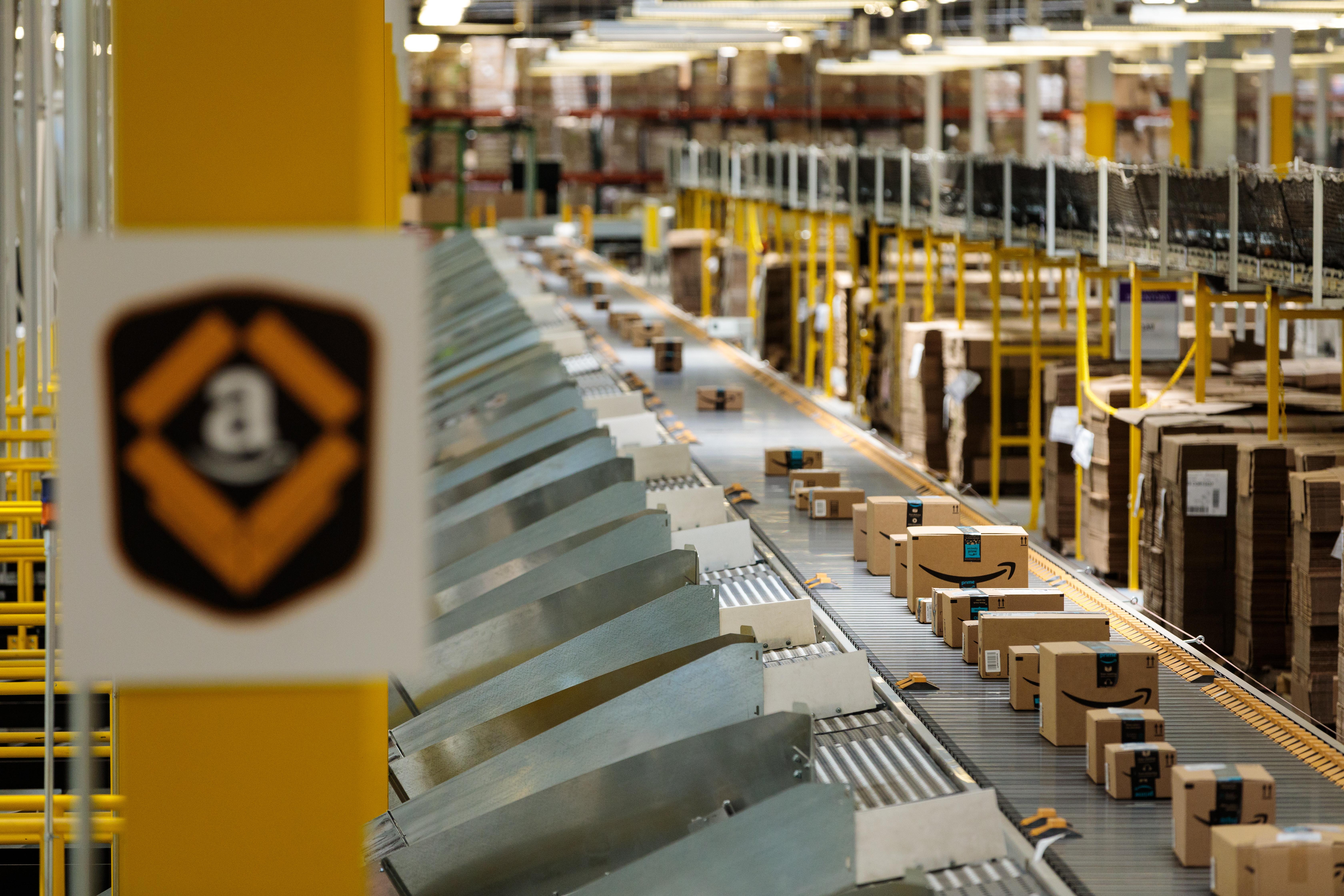 Amazon's fulfillment network